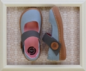 Livie and Luca Canvas Shoes for Girls in Light Blue Carta
