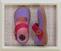 Livie and Luca Carta Lavender Little Girls Shoes