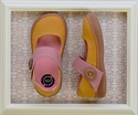Livie and Luca Carta Yellow Canvas Shoes for Girls