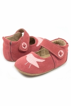 Livie and Luca Coral Suede Pio Pio Shoe for Baby