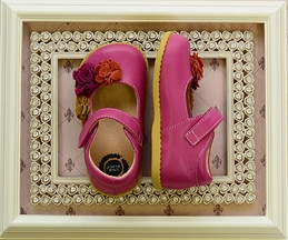Livie and Luca Dahlia Magenta Shoes for Girls