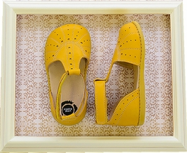 Livie and Luca Girls Palma Shoes in Yellow