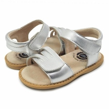 Livie and Luca Girls Sandals in Silver PREORDER