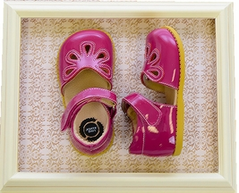 Livie and Luca Girls Shoes Petal in Fuchsia