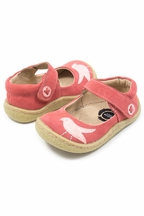 Livie and Luca Girls Shoes Pio Pio in Coral Suede
