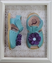 Livie and Luca Light Blue Bloom Shoes for Girls