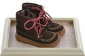 Livie and Luca Little Girls Suede Boots in Mocha