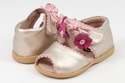 Livie and Luca Merry Bell Sandals for Girls in Gold Metallic