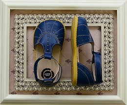Livie and Luca Navy Blue Shoes for Girls