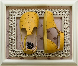 Livie and Luca Palma Shoes in Yellow