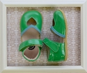 Livie and Luca Patent Leather Shoes for Girls in Sweetie Green