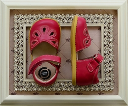 Livie and Luca Petal Shoes in Hot Pink