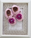 Livie and Luca Pink Bloom Baby Shoes
