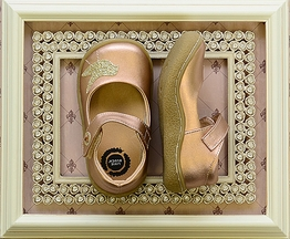 Livie and Luca Pio Pio Rose Gold Shoes for Girls