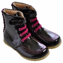 Livie and Luca Roxie Patent Leather Boot for Girls