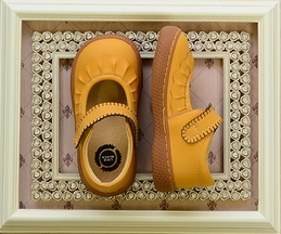 Livie and Luca Ruche Butterscotch Girls Shoes