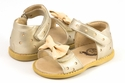 Livie and Luca Sandals for Girls in Gold Metallic Minnie