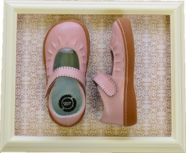 Livie and Luca Shoes for Girls Ruche Rose