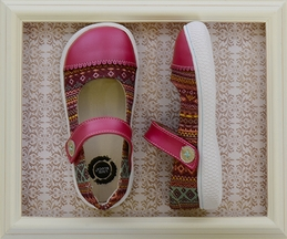 Livie and Luca Skipper Shoes for Girls in Magenta