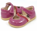 Livie and Luca Sweetie Fuchsia Little Girls Shoes