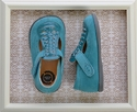 Livie and Luca Toi Toi Shoes for Girls in Turquoise (4Infant & 5)
