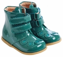 Livie and Luca Turquoise Flouret Girls Boots