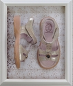 Livie and Luca Vintage Gold Charm Sandal