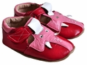 Livie & Luca Baby Girls Elephant Shoes in Red