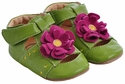 Livie & Luca Baby Girls Shoes Lime Bloom