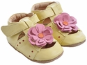 Livie & Luca Baby Girls Shoes Yellow Bloom