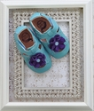 Livie & Luca Bloom Shoes Light Blue for Baby