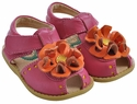 Livie & Luca Fuchsia Bloom Girls Shoes