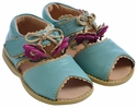 Livie & Luca Light Blue Merry Bell Shoes
