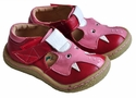 Livie & Luca Little Girls Shoes Red with Elephant