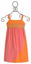 Lollipop Twirl Girls Summer Dress in Rainbow Loom