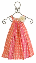 Love U Lots Polka Dot Dress for Girls (4 & 6X)