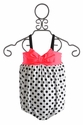 Love U Lots Polka Dot Infant Swimsuit