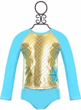 Love U Lots Rash Guard Set Starfish