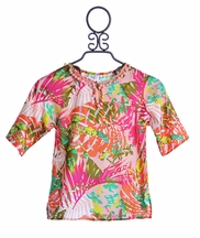 Love U Lots Swimsuit Coverup in Tropical Print