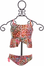 Lulita Swimsuit for Girls in Leopard