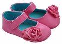 Luv Choo Rosette Pink Infant Shoe
