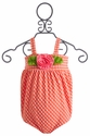 Luv U Lots Coral Infant Bubble Swimsuit