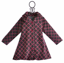 Mack and Co Hi-Low Winter Coat Lattice Girl (Size 7)