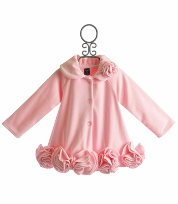 Mack and Co Little Girls Coat Manhattan Pink