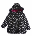 Mack and Co Polka Dot Puffer Coat for Girls