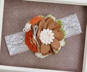 Made to Match Harvest Party Girls Headband