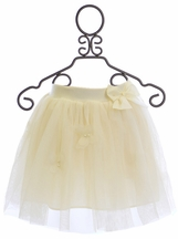 Mae Li Rose Boutique Tutu Skirt in Ivory