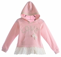 Mae Li Rose Fancy Pink Sweater for Girls