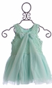 Mae Li Rose Mint Green Girls Dress