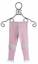 Mae Li Rose Pink Leggings for Infants